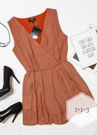 Affair вечерний ромпер s стильный комбинезон как мини платье д...