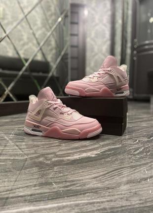 Кроссовки Nike Air Jordan 4 Pure Pink