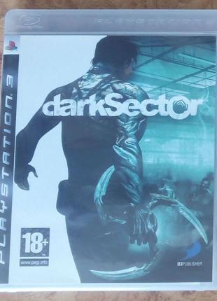 Продам игру PS3 Dark Sector