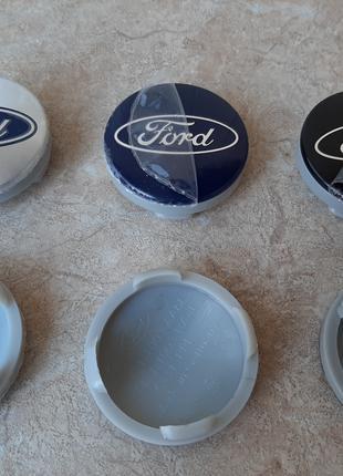 Колпачки (ковпачки) в литые диски (заглушки в диски) Ford (форд)