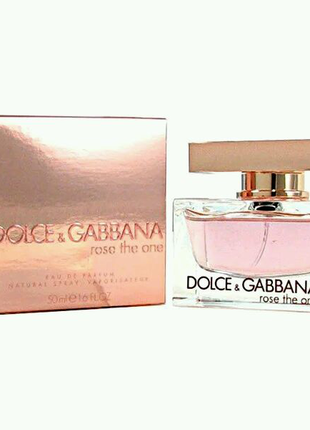 Dolce Gabbana Rose The One  75 ml