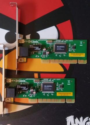 Сетевая карта D-Link DFE-520TX 10/100 Мбит/с