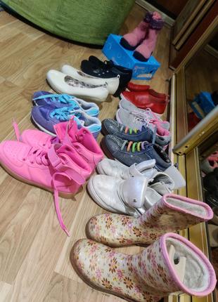 Обувь детская размер 30-36