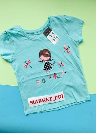 Футболка для девочек (2-8 лет) primark