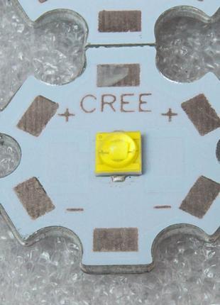 10 шт. Светодиод 3W 3535 XTE белый на подложке