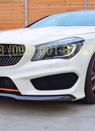 Бампер передний решетка CLA 45 AMG Mercedes CLA C117 CLA180 CL...
