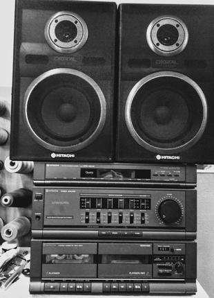 HITACHI MDR MD-03 музыкальный центр