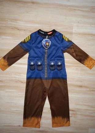 Карнавальный костюм щенячий патруль гонщик