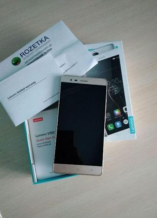 Телефон Lenovo vibe k5 note gold 3/32
