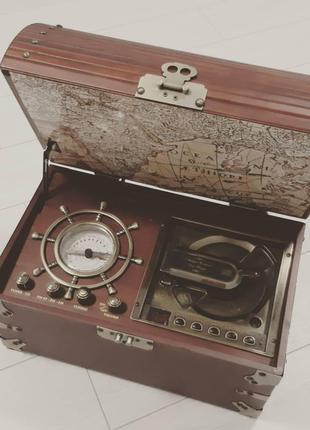 Невероятный подарок - Пиратский Сундук: CD проигрыватель и Радио