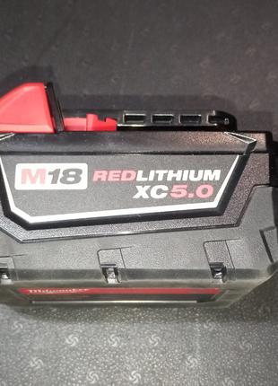 Аккумулятор Milwaukee RED LITHIUM M18 XC 5.0Ah 48-11-1850
