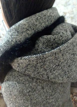 Женское модельное пальто зима-осень