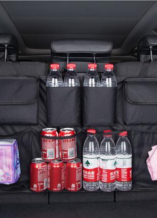Органайзер для автомобиля в багажник на спинку заднего сидения