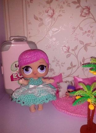 Платье для кукол Лол. Одежда для Лол.