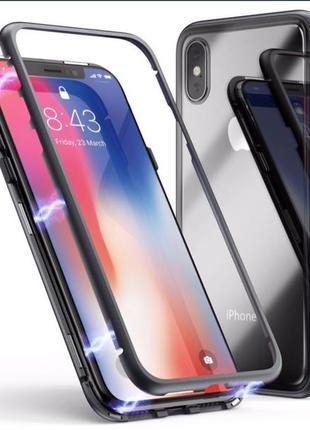 Магнитный чехол iPhone, айфон 7plus/8plus, X, XS, XSmax, XR, 11