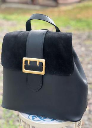 Женский кожаный рюкзак италия жіночий шкіряний рюкзак італія