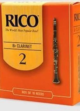 Трость для кларнета Rico - Bb Clarinet 2.0 (1шт.)