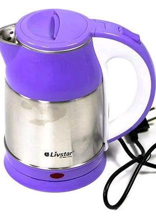 Электрический чайник Livstar 1127, 2 л, 1850 В