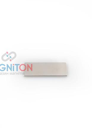 Неодимовый магнит 25х10х1 мм