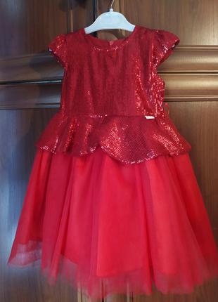 Платье праздничное для девочки 4 года