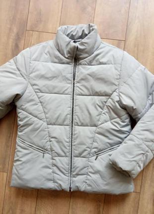 Куртка брендовая, стёганая, зимняя на  синтепоне