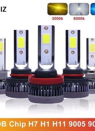 Супер Сильный LED для противотуманных фар,лампы цоколя Н8 Н11 ...