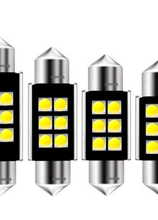 Подсветка салона,номерного знака,цоколь C5W.Лед лампы (LED) бе...