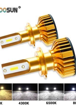 Светодиодные Лампы LED H1 H4 Н7.Автомобільні лампи Лед.