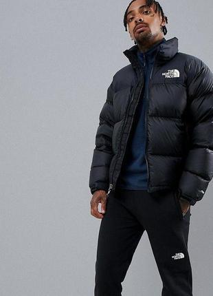Акция! зимний пуховик куртка the north face supreme черный