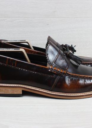 Мужские кожаные туфли / лоферы lambretta, размер 44.5 - 45