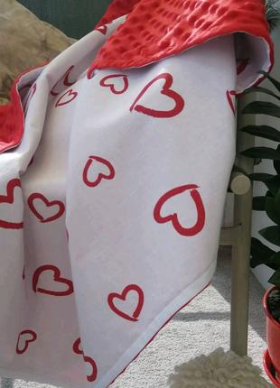 Распродажа летних пледов в коляску из плюша Minky