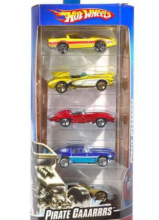 Набір машинок Hot Wheels 5-Car Pack