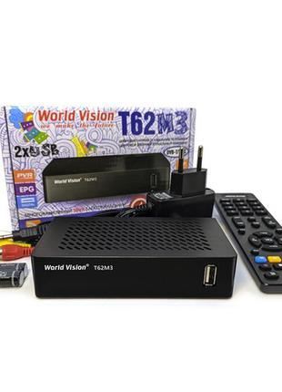 Эфирный Т2 Ресивер WORLD VISION T62M3