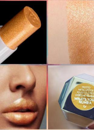 Fenty beauty by rihanna frosted metallic lipstick помада для г...