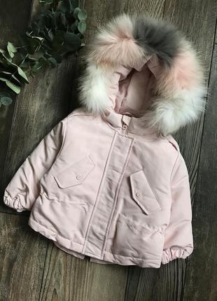 Пуховик куртка зимняя зима 1 2 года zara h&m next name it