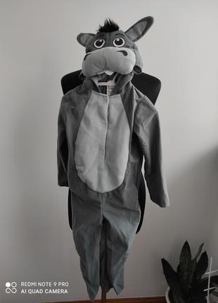 Карнавальный, костюм осла, ослика, бременского музыканта