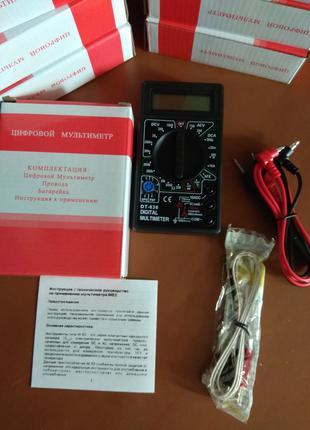 Мультиметр DT 838 с термопарой
