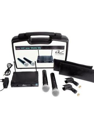Радіосистема, радіомікрофони Alpha Audio Mic one Dual WL