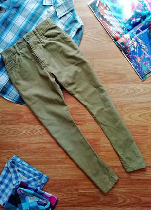 Детские крутые современные вельветовые брюки для мальчика m&s ...
