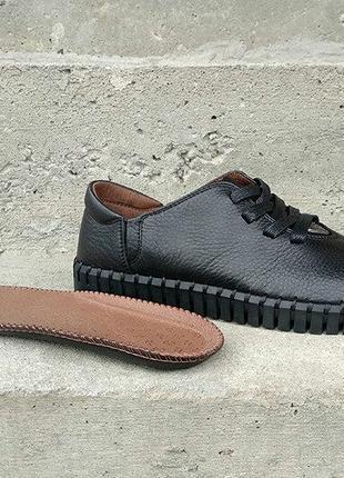 Кожаные мужские мокасины кеды туфли кроссовки