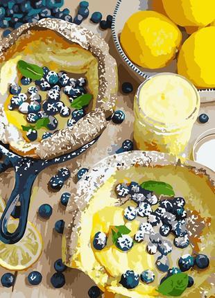 Картина по номерам Яркий завтрак, 40х50