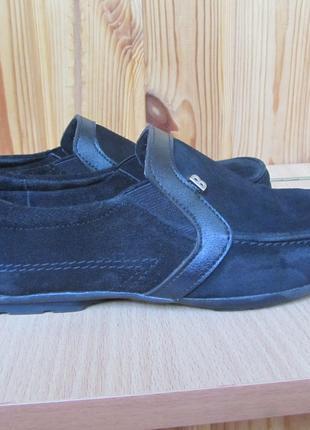 Туфли замшевые на мальчика, размер 38