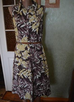 Лёгкое летнее миди-платье от george