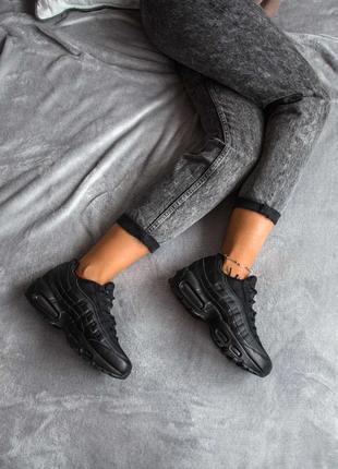 Женские кроссовки 🔸nike air max 95 black🔸