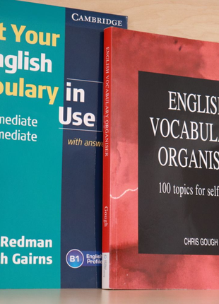 Vocabulary organisers