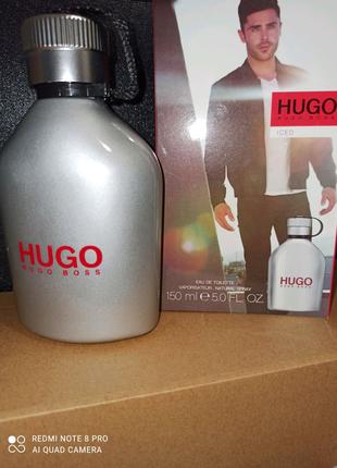Туалетна вода для чоловіків Hugo Boss Hugo Iced  150ml