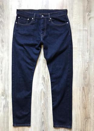 Мужские стрейчевые зауженые джинсы levis 512 34/32