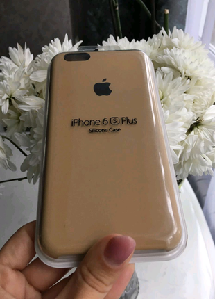 Чехол silicone case for iphone 6s plus / iphone 6 plus
