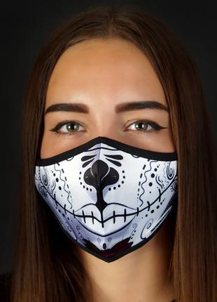 Многоразовая защитная маска для Helloween Хеллоуин