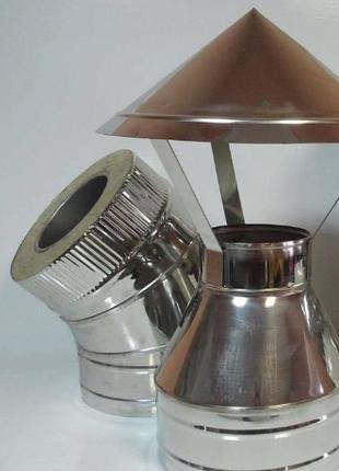 трубы дымоход от производителя, димохід